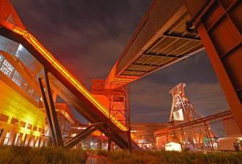 Klassenfahrtenfuchs - Klassenfahrt Ruhrgebiet - Dortmund - Zeche Zollverein abends