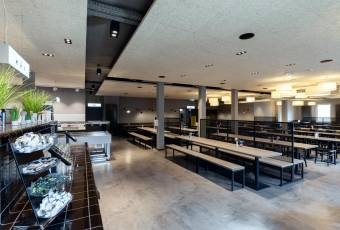 Klassenfahrtenfuchs - Klassenfahrt nach Köln - a&o Hostel Neumarkt - Speiseraum