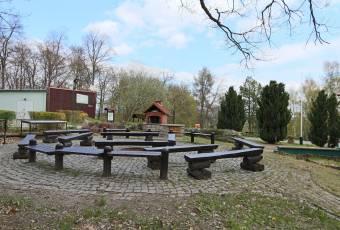 Klassenfahrtenfuchs-Klassenfahrt Güntersberge-Feuerstelle